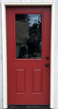 Entry Door Replacement in Spirit Lake