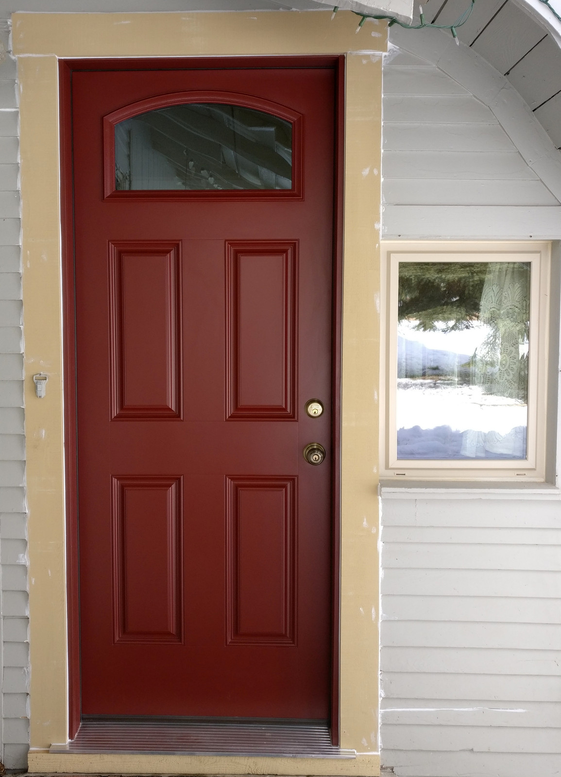 Charmant This Customer Replaced With Entry Door With A New Fiberglass Entry Door  From ProVia.