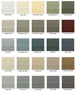 James Hardie ColorPlus Fiber Cement Color Options