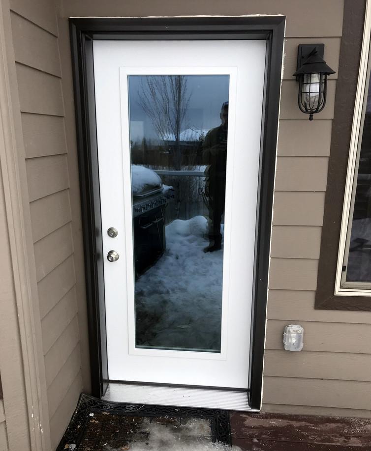 Steel Entry Door Replacement in Spokane, WA