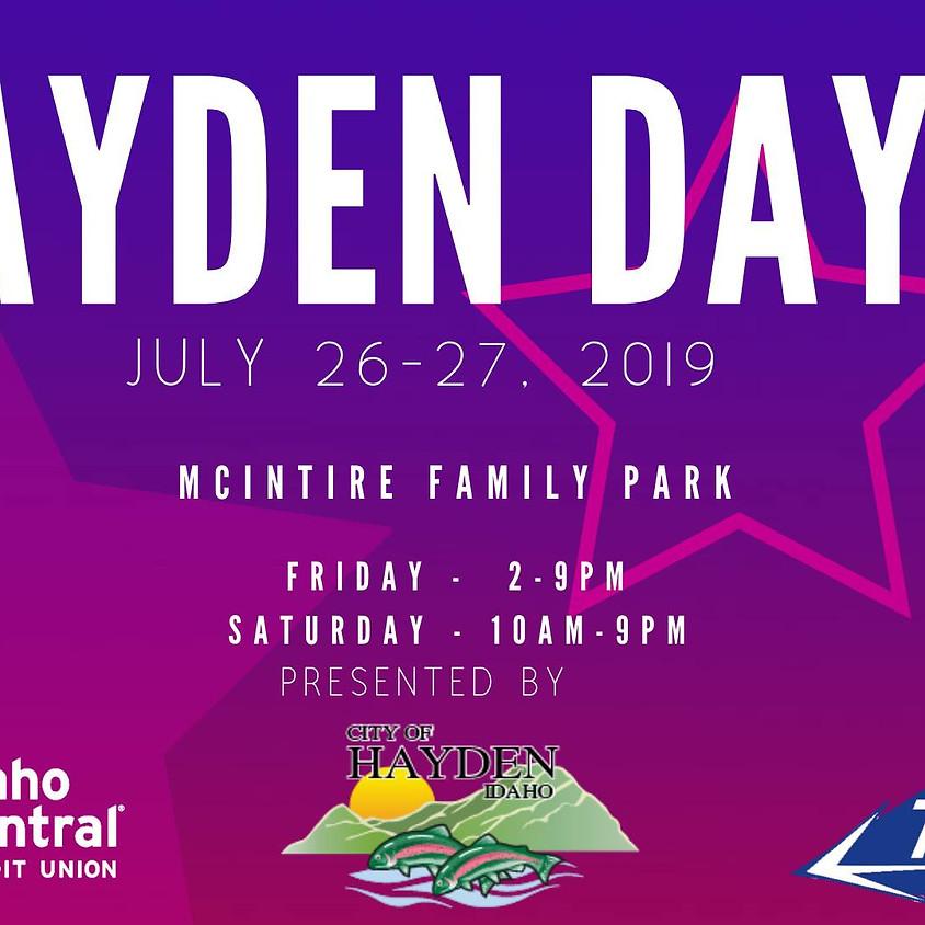 Hayden Days 2019