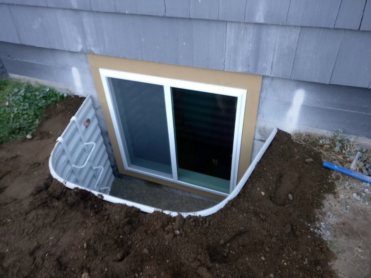 Egress Cut-In in Spokane, WA