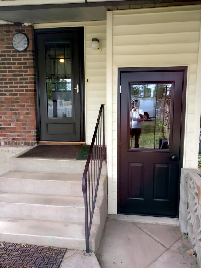 Multiple Entry and Storm Door Replacement in Spokane Valley, WA