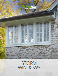 ProVia Storm Window Brochure