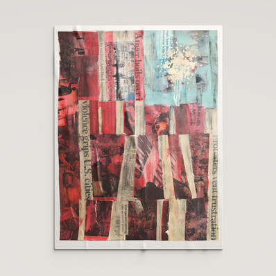 Fragmented 4th // Kevin Perry — Fine Art