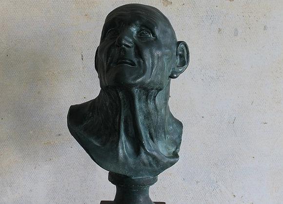 Plaaster buste van Seneca