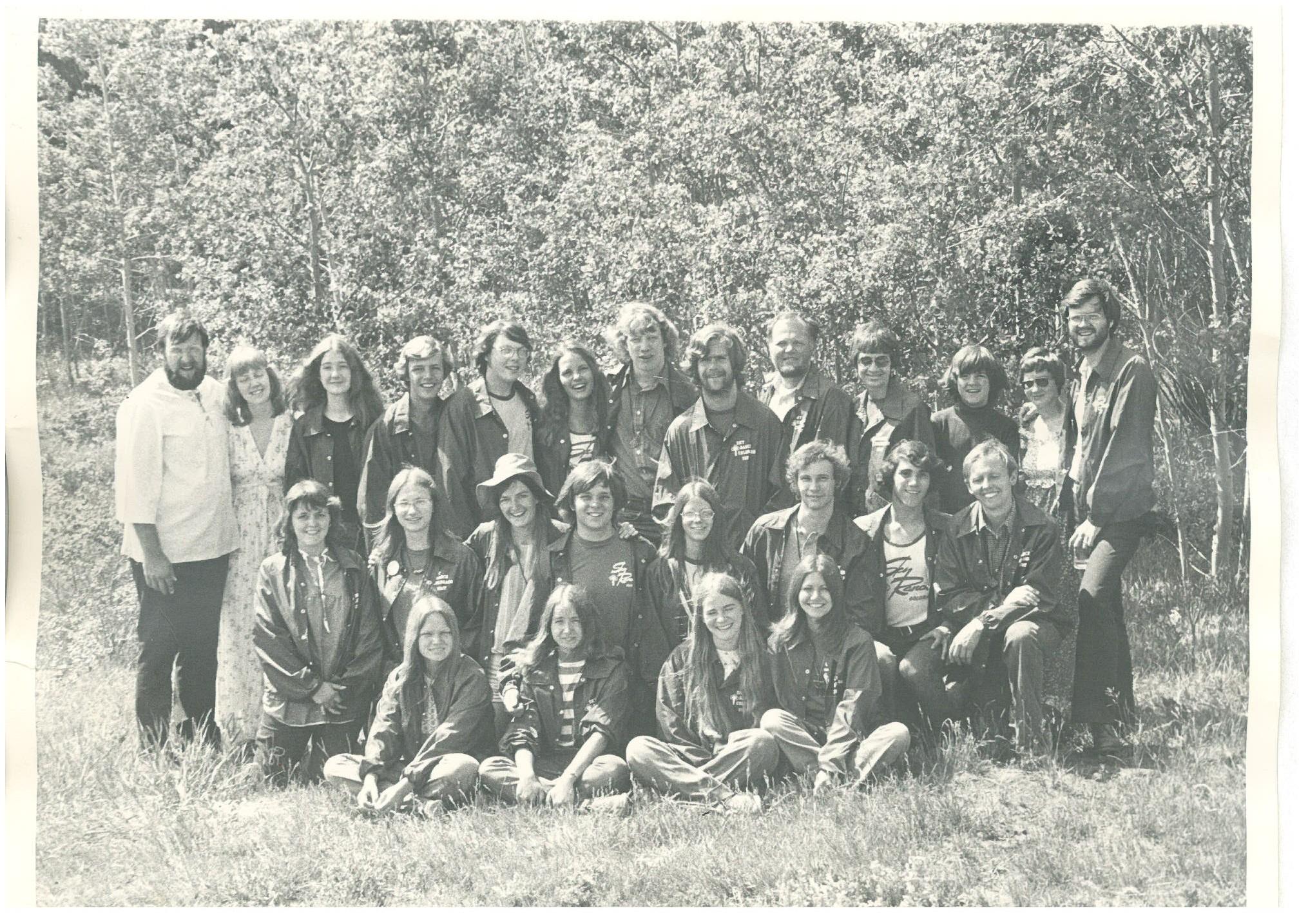 1974 Summer Staff