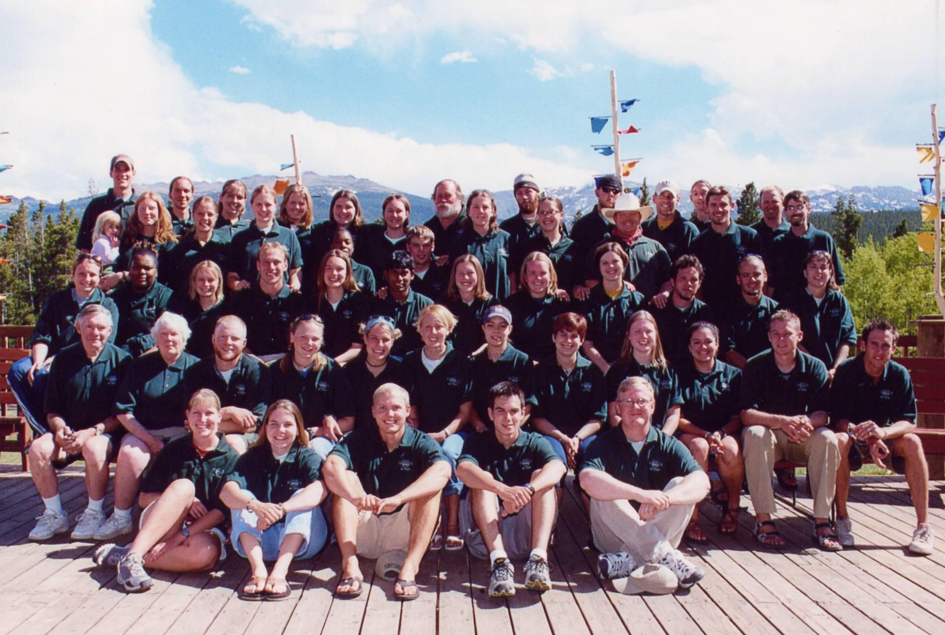2002 Summer Staff