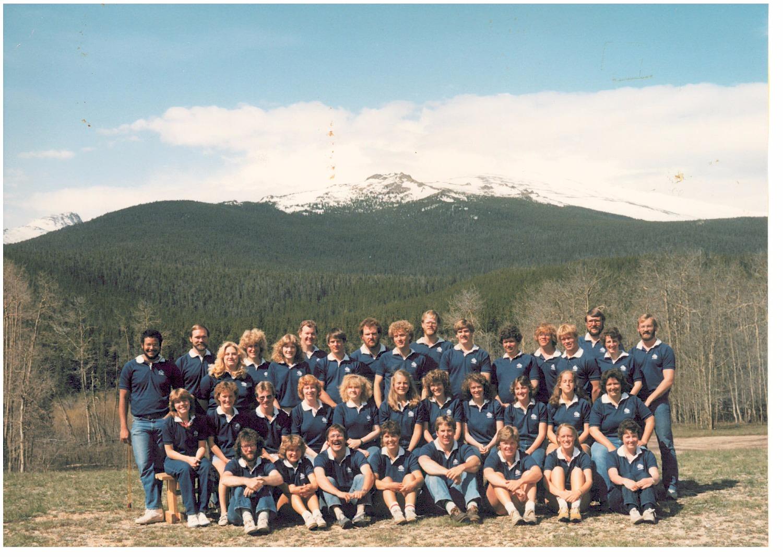 1983 Summer Staff