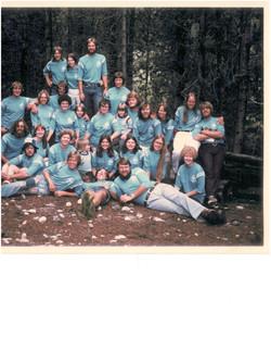 1977 Summer Staff