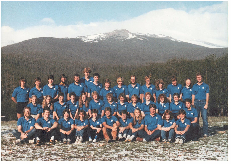 1984 Summer Staff