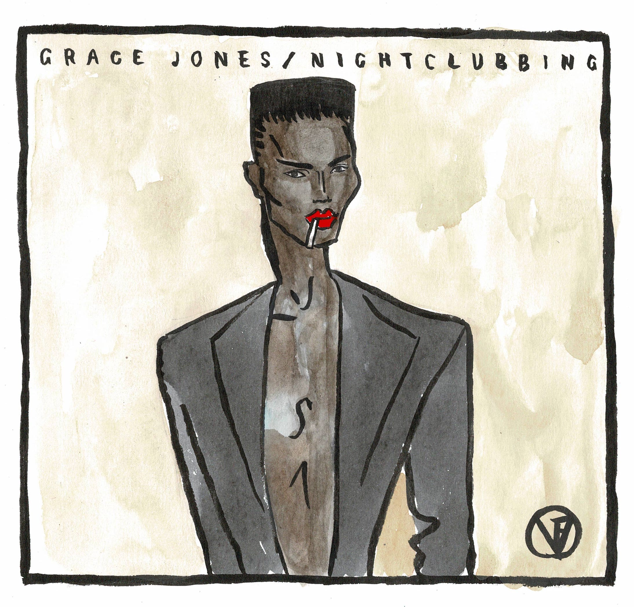 Grace Jones - Victoria FitzRoy