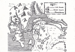 Map - Victoria FitzRoy