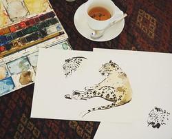 L E O P A R D S &  T E A #safari  #shewasabeauty #victoriafitzroydesign 🐆 #leopard #yala #yalanatio