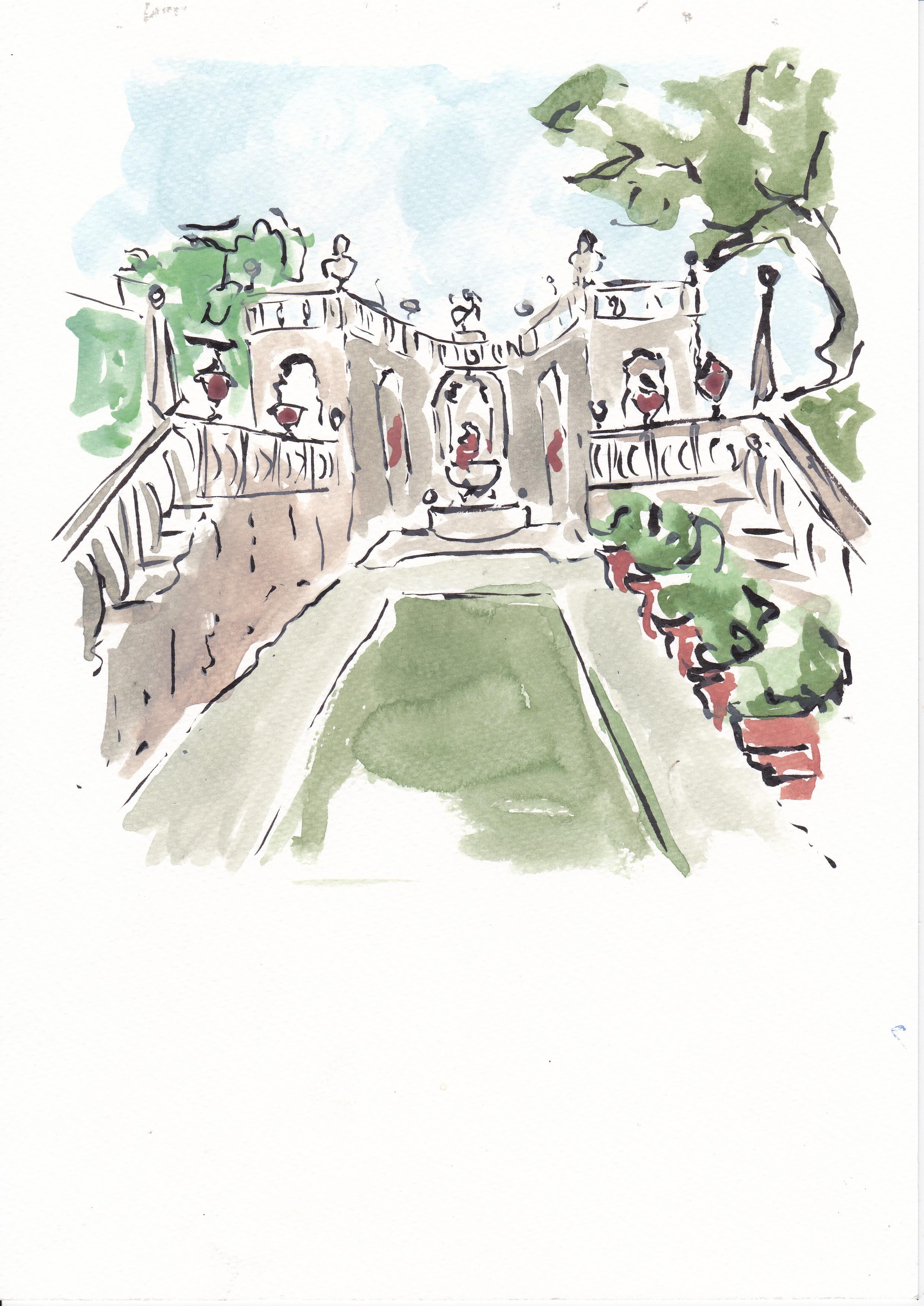 Italian villa  - Victoria FitzRoy