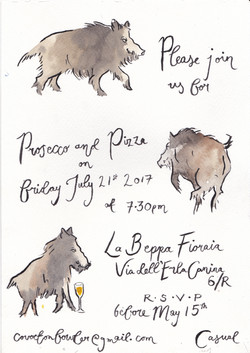 Wild Boars - Victoria FitzRoy