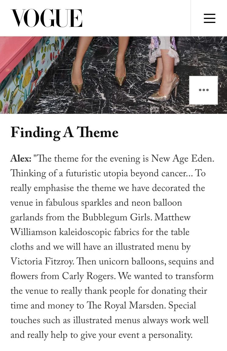 Vogue - Victoria FitzRoy