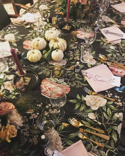 Halloween Table - Victoria FitzRoy