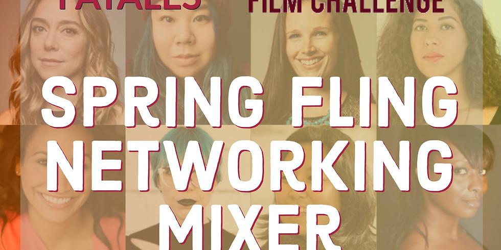 Spring Fling Filmmaker Mixer