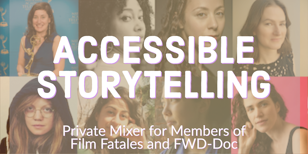 Accessible Storytelling Mixer