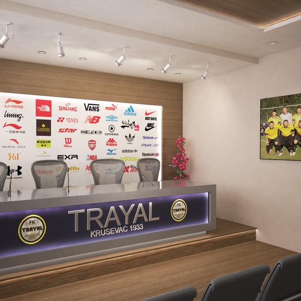 Football club Trayal - Krusevac, Serbia
