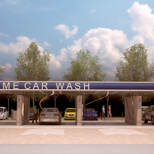 Car wash Extreme - Belgrade, Serbia