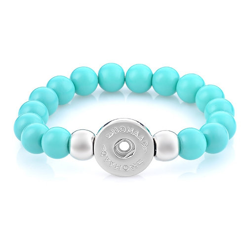 Bracelet élastique turquoise, Nomaad Interchangeable
