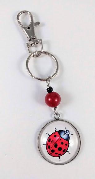 Porte-clés ''Coccinelle'' (#63)