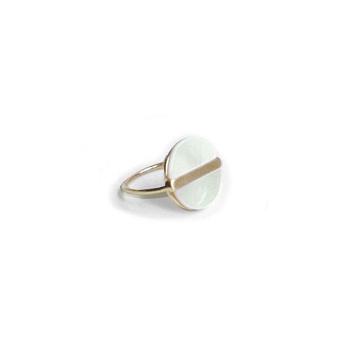 Bague Caracol, Nacre de perle, Or, 4147-WTE-G