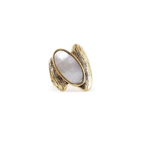 Bague Caracol, Nacre de perle, Or, 4120-GLD