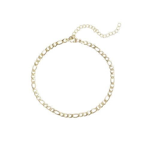 Bracelet Mia Figaro, Acier inoxydable, Or