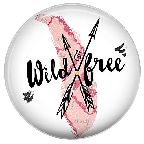 Bouton pression (snap) Nomaad Interchangeable, Wild and free