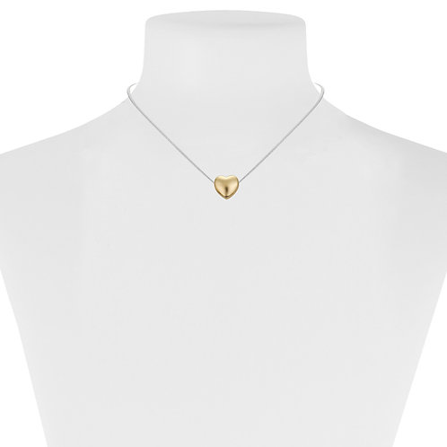 Collier Caracol, Coeur, Or, 1321-GLD