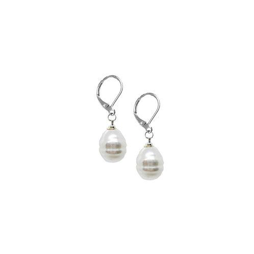 Boucles d'oreille Caracol, Perles, 2385-MIX