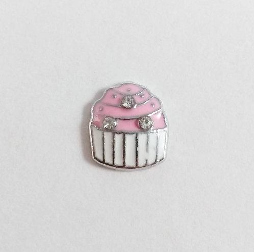 Figurine pour collier famille: ''Cupcake'' (petit gâteau)