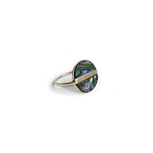 Bague Caracol, Abalone, Or, 4147-MIX-G