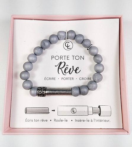 Bracelet Chantal Lacroix, ''Porte ton rêve'', Énergie, Agate