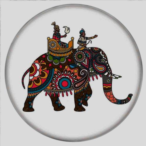 Bouton pression (snap) Nomaad Interchangeable, Éléphant