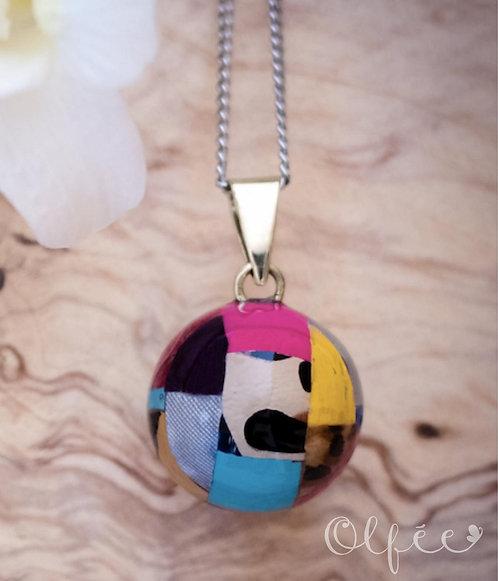 Bola Olfée: Collier de grossesse musical (#5 Multicolore)
