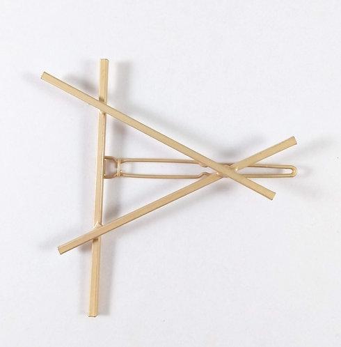 Barrette: Triangle or