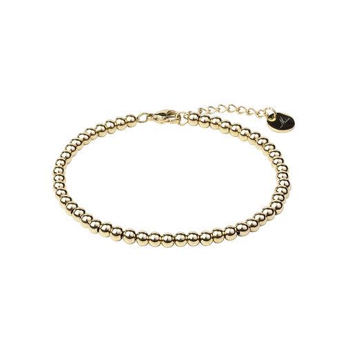 Bracelet Mia, 'Moments', Acier inoxydable, Or