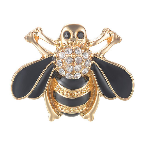 Bouton pression (snap) Nomaad Interchangeable, Abeille