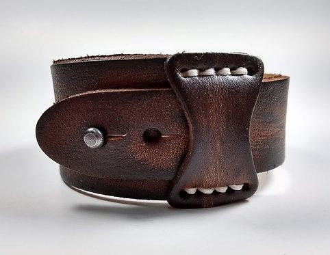 Bracelet pour Homme, cuir brun