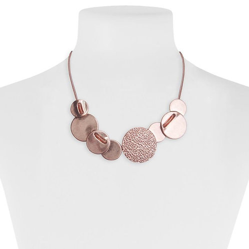 Collier Caracol, or rose
