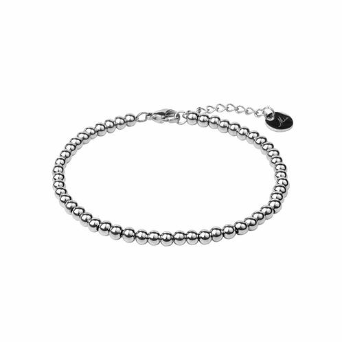 Bracelet Mia, 'Moments', Acier inoxydable, Argent