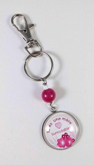 Porte-clés ''Tu es une mère formidable'' (#7)