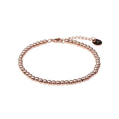 Bracelet Mia, 'Moments', Acier inoxydable, Or rose