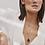 Thumbnail: Chaîne billes Mia, Acier inoxydable, Or