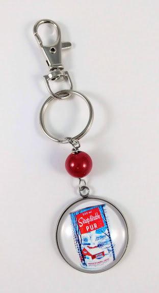 Porte-clés ''Canne sirop d'érable'' (#27)