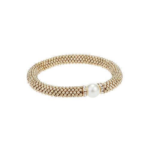 Bracelet élastique Caracol, Or, 3036-GLD